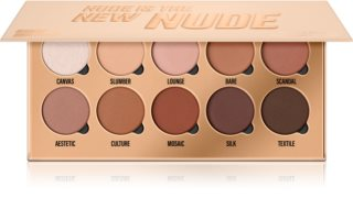 Makeup Obsession Nude Is The New Nude paletka očných tieňov
