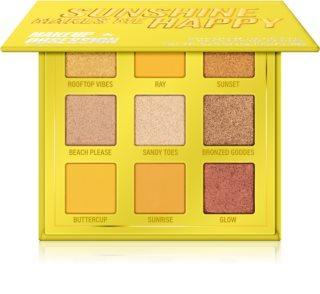 Makeup Obsession Mini Palette paletka očních stínů