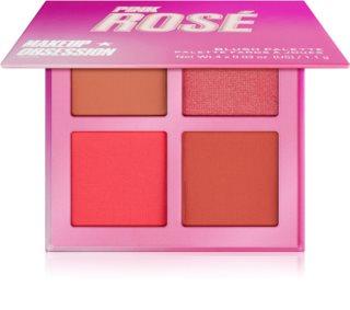 Makeup Obsession Blush Crush Palette mit Kontur-Rouges