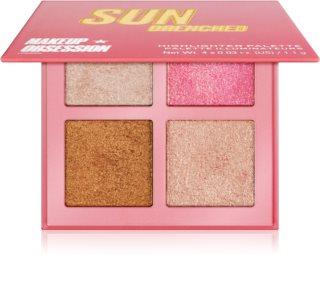 Makeup Obsession Glow Crush paletka rozjasňovačů