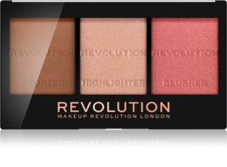 Makeup Revolution Ultra Sculpt & Contour палитра контури за лице