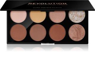 Makeup Revolution Ultra Contour палетка для контурирования лица