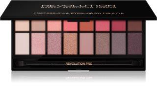 Makeup Revolution New-Trals vs Neutrals палитра от сенки за очи с огледалце и апликатор