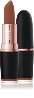Makeup Revolution Iconic Matte Nude κραγιόν με ματ αποτελέσματα