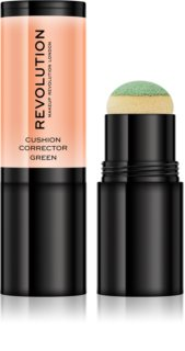Makeup Revolution Cushion Corrector Υγρό καλυπτικό με σφουγγαράκι εφαρμογής
