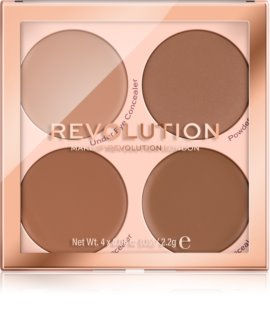 Makeup Revolution Matte Base Concealerpalett