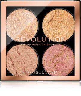Makeup Revolution Cheek Kit Palette für das Gesicht