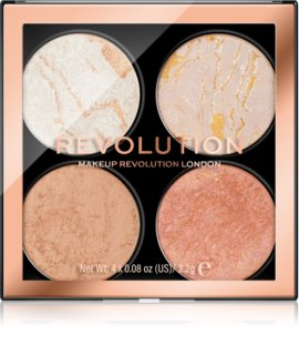 Makeup Revolution Cheek Kit paleta para el rostro