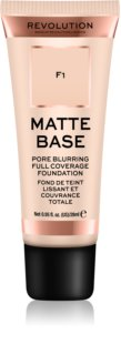 Makeup Revolution Matte Base Högtäckande foundation