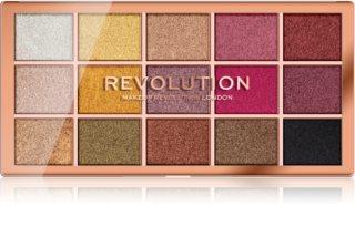 Makeup Revolution Foil Frenzy палетка теней для век металлических оттенков