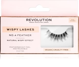 Makeup Revolution False Lashes Wispy trepavice za lijepljenje