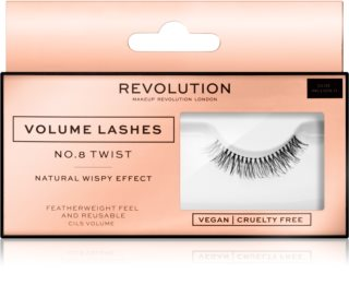 Makeup Revolution False Lashes Volume nalepovací řasy
