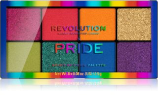 Makeup Revolution Pride Eyeshadow Palette, 8 Shades