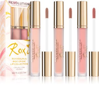 Makeup Revolution X Roxxsaurus kit lèvres Ride or Die teinte