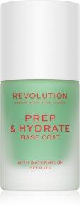 Makeup Revolution Prep & Hydrate vyhlazující podkladový lak na nehty