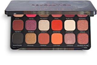 Makeup Revolution Halloween Eyeshadow Palette paletka očních stínů