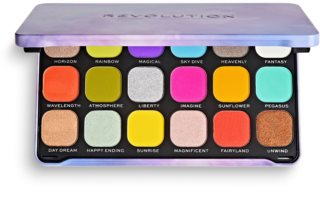 Makeup Revolution Halloween Eyeshadow Palette палетка тіней для очей