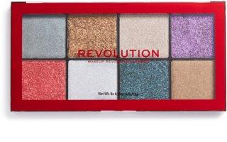 Makeup Revolution Halloween Glitter Palette Pressed Shimmer Palette