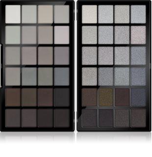 Makeup Revolution Colour Book paletka pudrových očních stínů