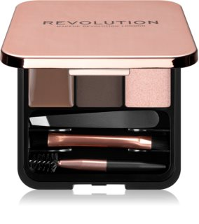 Makeup Revolution Brow Sculpt Kit Set für perfekte Augenbrauen