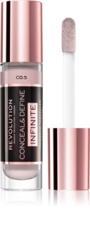 Makeup Revolution Infinite corretor de cobertura para reduzir as imperfeições embalagem grande