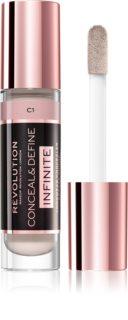 Makeup Revolution Infinite покрывающий корректор для скрытия недостатков кожи большая упаковка