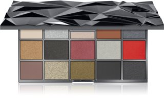 Makeup Revolution Glass Black Ice paleta sjenila za oči