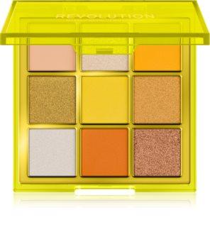Makeup Revolution Viva Neon paletka očních stínů