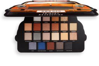 Makeup Revolution X Friends Take A Drive paleta očních stínů
