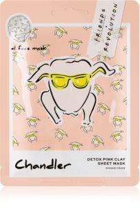Makeup Revolution X Friends Chandler masque tissu pour peaux grasses et à problèmes