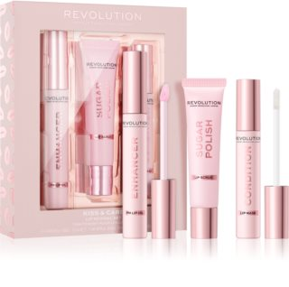 Makeup Revolution Kiss & Care set za usne