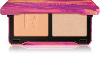 Makeup Revolution Neon Heat konturovací paletka tvářenek