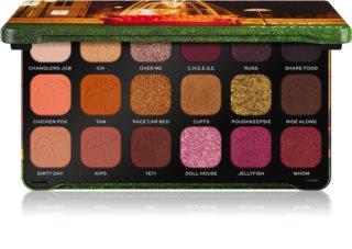 Makeup Revolution X Friends Forever Flawless paletka očních stínů