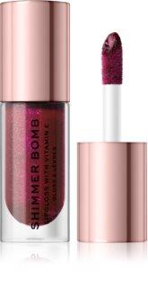 Makeup Revolution Shimmer Bomb třpytivý lesk na rty