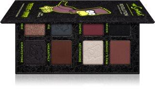 Makeup Revolution The Simpsons Treehouse Of Horror Mini Macambre paleta očních stínů
