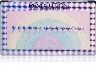 Makeup Revolution Rainbow λαμπρυντικό