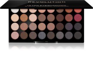 Makeup Revolution Flawless 2 Øjenskygge palette med spejl