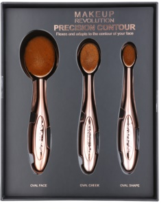 Makeup Revolution Pro Precision Brush conjunto de escovas de contorno