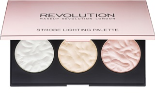 Makeup Revolution Strobe Lighting paleta rozjasňovačov