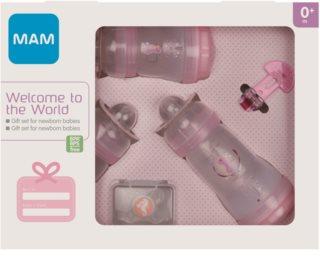 MAM Welcome to the World Gift Set подарунковий набір Pink (для малюків до року)