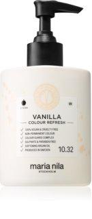 Maria Nila Colour Refresh Vanilla jemná vyživující maska bez permanentních barevných pigmentů