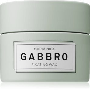 Maria Nila Minerals Gabbro Schnelltrocknendes Formwachs für kurze Frisuren