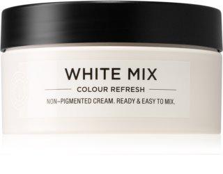 Maria Nila Colour Refresh White Mix vyživujúca maska bez farebných pigmentov k dotvoreniu pastelových odtieňov