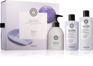 Maria Nila Sheer Silver Kosmetik-Set  für blondes und meliertes Haar