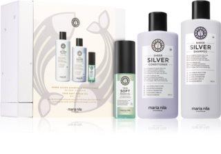 Maria Nila Sheer Silver Geschenkset (für blonde Haare)