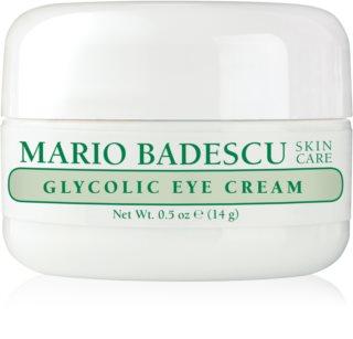 Mario Badescu Glycolic Eye Cream Kosteuttava Ryppyjä Ehkäisevä Voide Glykolihapolla Silmien Alueelle