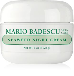 Mario Badescu Seaweed Night Cream ενυδατική κρέμα νύχτας με μεταλλικά στοιχεία