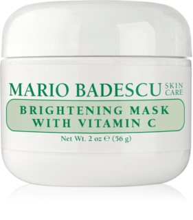 Mario Badescu Brightening Mask with Vitamin C Kirkastava Naamio Tylsälle Epätasaiselle Iholle