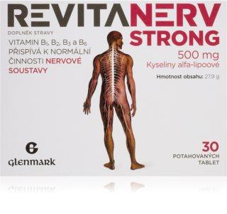 Master Pharm Revitanerv Strong doplněk stravy pro podporu normální činnosti nervové soustavy