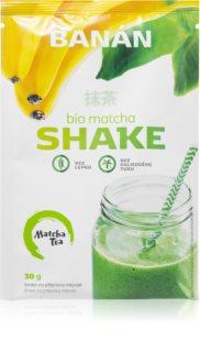 Matcha Tea Shake BIO prášek na přípravu nápoje se zeleným čajem příchuť banana